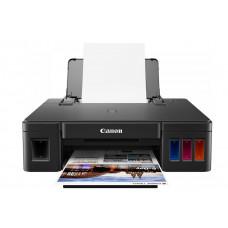 Принтер Canon PIXMA G1411, 4-цветный струйный СНПЧ A4, 8.8 (5 цв) изобр./мин, 4800x1200 dpi, подача: 100 лист., USB, печать фотографий, печать без полей (Старт.чернила 12000 стр черные, 7000 стр CMY цветные)