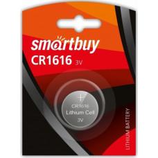 Элемент питания литиевый SmartBuy CR1616