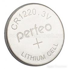 Элемент питания литиевый PERFEO CR1220