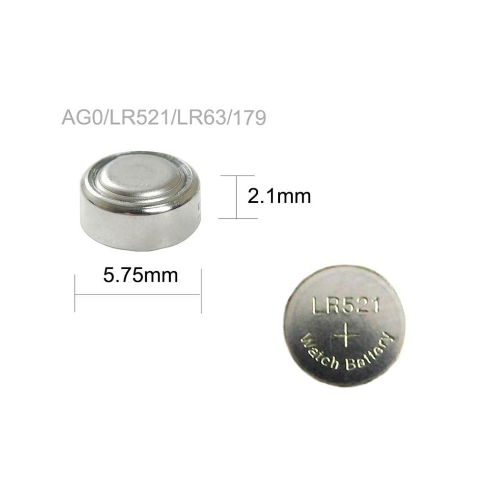 Батарейка часовая PERFEO AG0, LR521, LR63