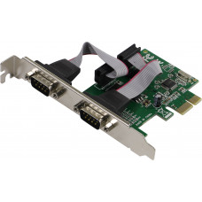 Контроллер ExeGate EXE-307 PCI-E, 2*COM port (OEM)
