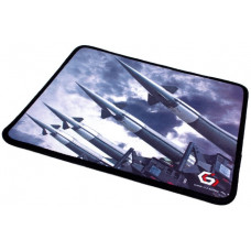 """Коврик для мыши Gembird MP-GAME32, рисунок- """"""""ракеты"""""""", размеры 250*200*3мм, ткань+резина, оверлок"""