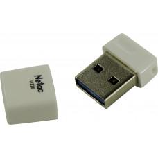 Флеш Диск Netac U116 64Gb <NT03U116N-064G-30WH>, USB3.0, миниатюрная пластиковая белая
