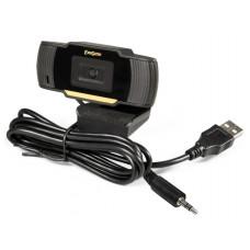 Веб-камера ExeGate EX286180RUS GoldenEye C270, 640х480, USB, микрофон с шумоподавлением, универсальное крепление