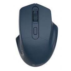 Мышь CANYON 2.4GHz Wireless Optical Mouse with 4 buttons, DPI 800/1200/1600, Dark Blue, 115*77*38mm, 0.064kg