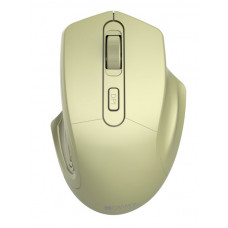 Мышь CANYON 2.4GHz Wireless Optical Mouse with 4 buttons, DPI 800/1200/1600, Golden, 115*77*38mm, 0.064kg