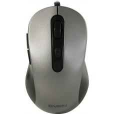 Мышь SVEN RX-114 серая (5+1кл. 600-2000DPI, каб. 1,5м, блист.)