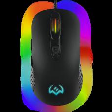 Игровая мышь SVEN RX-G820 (6+1кл. 200-4800 DPI. ПО. SoftTouch. RGB-подсветка. игров. упак)