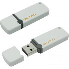 Флэш Диск USB 2.0 QUMO 16GB Optiva 02 White QM16GUD-OP2-white