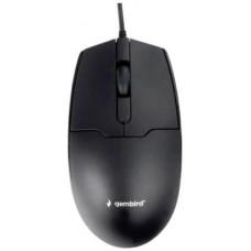 Мышь Gembird MOP-425, USB, черный, 2кн.+колесо-кнопка, 1000 DPI, кабель 1.8м