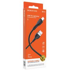 USB кабель Borofone BX51 Lightning 2.4A 1m