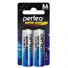 Батарейка алкалиновая PERFEO AA LR6 (2шт в блистере)