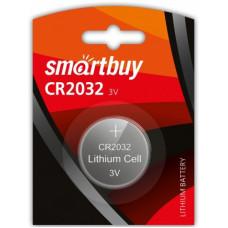 Элемент питания литиевый SmartBuy CR2032