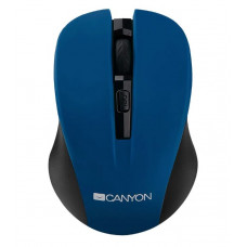 Мышь CANYON CNE-CMSW1BL Blue USB {wireless mouse with 3 buttons, DPI changeable 800/1000/1200}