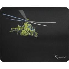 """Коврик Gembird MP-GAME9, рисунок- """"вертолет"""", Коврик игровой для мыши, размеры 250*200*3мм"""