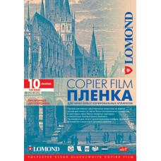 Пленка Lomond PE DS Film – прозрачная, двусторонняя, А4, 100 мкм, 10 листов, для ч/б копиров.