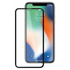 """Защитное стекло """"Стандарт"""" для iPhone Xr/11 Черное (Полное покрытие)"""