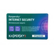 ПО Kaspersky Internet Security Multi-Device Russian Ed. 2-Device 1 year Renewal Card (KL1939ROBFR)