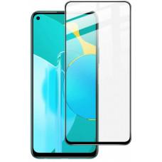 """Защитное стекло """"Полное покрытие"""" для Huawei Honor 30S Черное"""