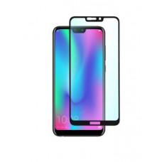 """Защитное стекло """"Полное покрытие"""" для Huawei Honor 8C Черное"""