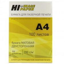 Бумага лазерная матовая двусторонняя (HI-image paper) A4 200 г/м 100л.