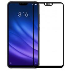 Защитное стекло для Xiaomi Mi 8 Lite Черное Полное покрытие