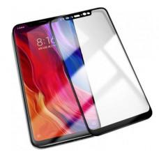 Защитное стекло для Xiaomi Mi 8 Pro Черное Полное покрытие