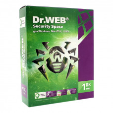 ПО DR.WEB Security Space 1 ПК/1 год (BHW-B-12M-1-A3)