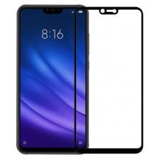 Защитное стекло для Xiaomi Mi 8 Lite Черное Премиум
