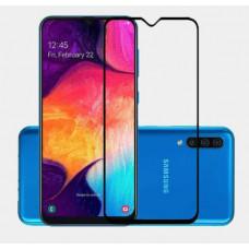 Защитное стекло Полное покрытие для Samsung A207F (A20s) Черное