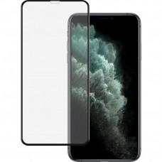 Защитное стекло Тонкое для iPhone X, Xs, 11 Pro Черное Полное покрытие 0,25мм