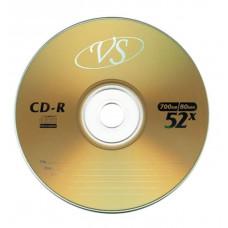 Диск CD-R VS 700 Mb, 52x, Bulk (50), (50/600).