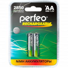 Аккумулятор PERFEO AA HR6 2850mAh (блистер/2шт)