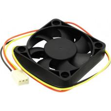 Вентиляторы 5bites Вентилятор F5010S-3 50 x 50 x 10мм, подшипник скольжения, 4500RPM, 24dBa, 3 pin