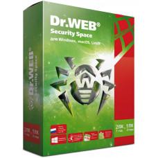 ПО DR.WEB Security Space 2 ПК/1 год (BHW-B-12M-2-A3)