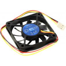 Вентиляторы 5bites Вентилятор F6010S-3 60 x 60 x 10мм, подшипник скольжения, 3500RPM, 26dBa, 3 pin