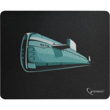 """Коврик Gembird MP-GAME7 рисунок- """"подводная лодка"""", Коврик для мыши, размеры 250*200*3мм"""