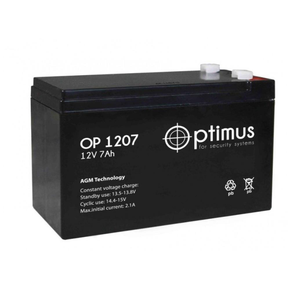 Батарея Optimus OP 1207 12/07