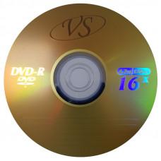 Диск DVD+R VS 4.7 Gb, 16x, Bulk (50), (50/600)