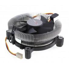 вентилятор CROWN Кулер для процессора CM-80 (Для Intel и AMD, TDP до 65 Ватт,Низкая посадка радиатора , Гидродинамическии? подшипник, Размер: 115*103*42 мм)