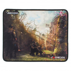 Коврик для мыши Гарнизон GMP-120, игровой, дизайн - игра Survarium, ткань/резина, размеры 200 x 250 x 3 мм