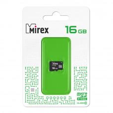 Флеш карта microSD 16GB Mirex microSDHC Class 10