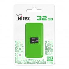 Флеш карта microSD 32GB Mirex microSDHC Class 10