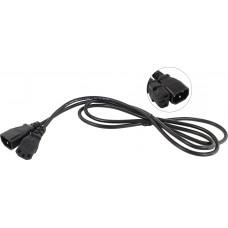 Кабель монитор - компьютер (UPS -> устройство) 220V {IEC-320-C13/C14} <TP020-1.8-BK> 1,8м