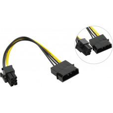 Переходник питания для PCI-Ex видеокарт Molex 4pin (M) -> 6pin ORIENT C511