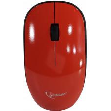 Мышь беспроводная,Gembird MUSW-111-CRL { коралловый, 2кн.+колесо-кнопка, 1200DPI, 2.4ГГц}
