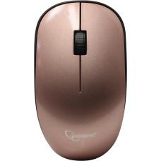 Мышь беспроводная, Gembird MUSW-111-RG { розовое золото, 2кн.+колесо-кнопка, 1200DPI, 2.4ГГц}